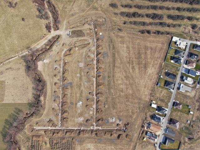 I. a II. Etapa pripravená k začatiu výstavby rodinných domov