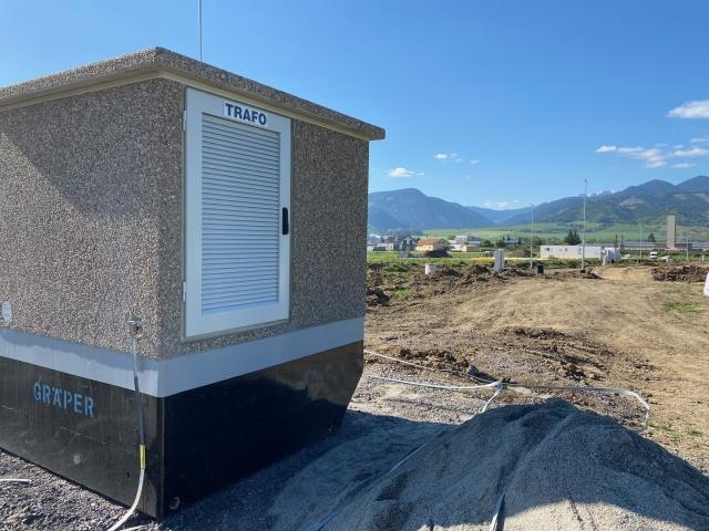 Realizácia Trafo stanice a Verejného Osvetlenia
